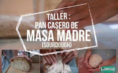 Taller: Pan casero de masa madre (Sourdough) – JUNIO